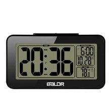 Baldr Smart réveil numérique Snooze électronique étudiant horloge capteur veilleuse bureau Table horloge
