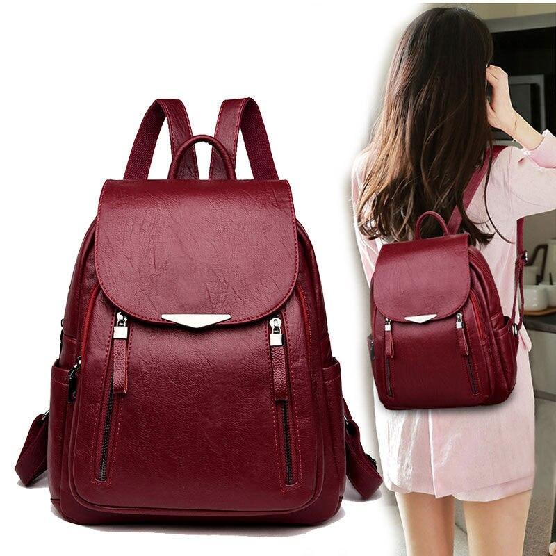 Mochila feminina 2020 saco feminino preto h8 feminino mochila escolar clássico