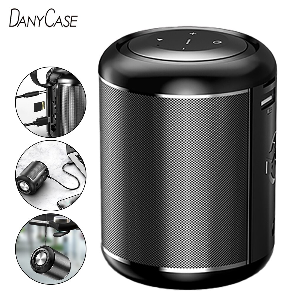 Mini Bluetooth Speaker True Wireless Powerful Outdoor Bass Smart Speaker Clear Stereo Sound Subwoofer Car Audio For Smart Phone