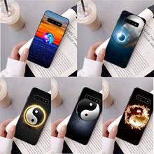 Printing Graffiti Yin Yang  Custom Photo Soft fundas Phone Case for Samsung S10 E S9 plus S6 edge plus S7edge S8plus S10 plus S5