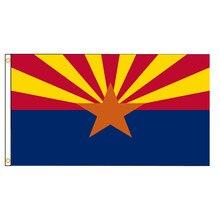 USA State Arizona Flag High Quality Polyester Single Side Printed Home Decoration Hanging Flag Banne