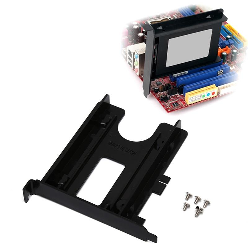 PCI Slot 2,5 pulgadas HDD SSD Panel trasero soporte de montaje adaptador...