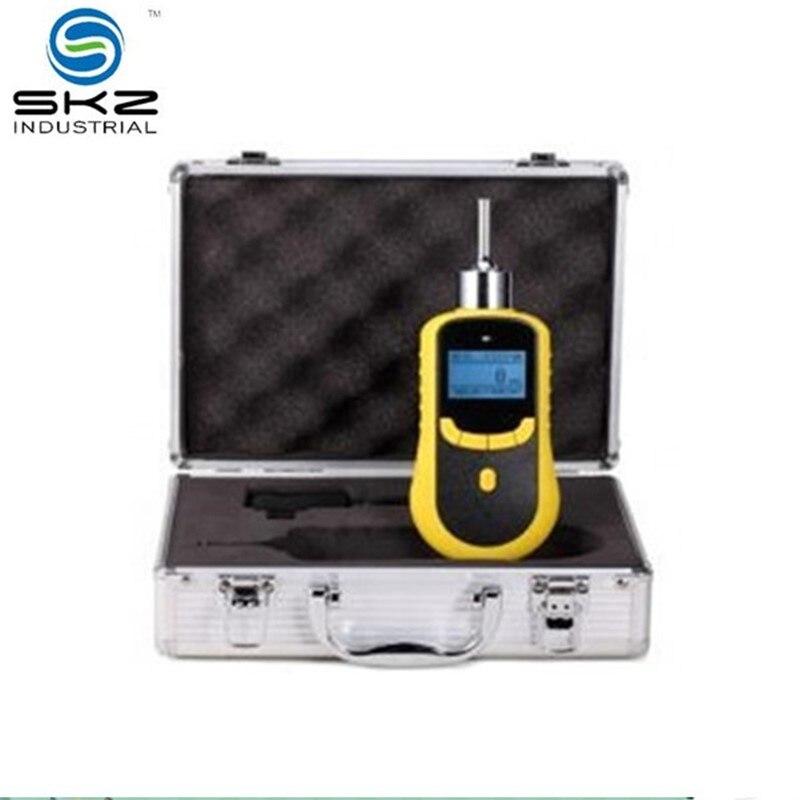 Rastreador de gas monitor H2S de sulfuro de hidrógeno portátil de 0-100ppm