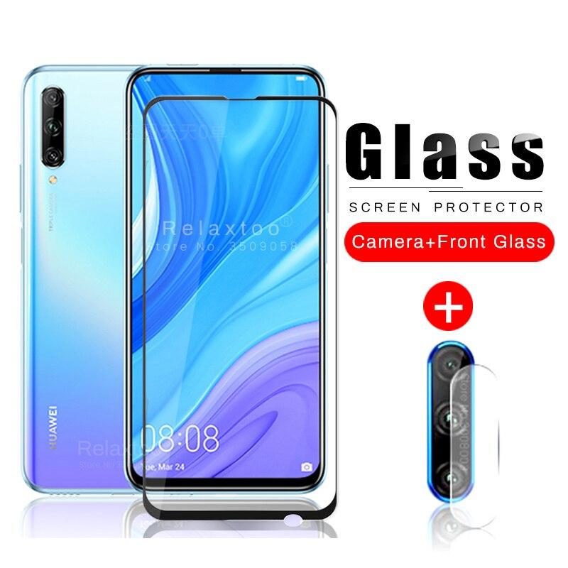 Película de lente de cámara 2 en 1 y vidrio protector para huawei y9s y9 s 2020 6,59 armadura de seguridad película templada vidrio de protección huawei y9s