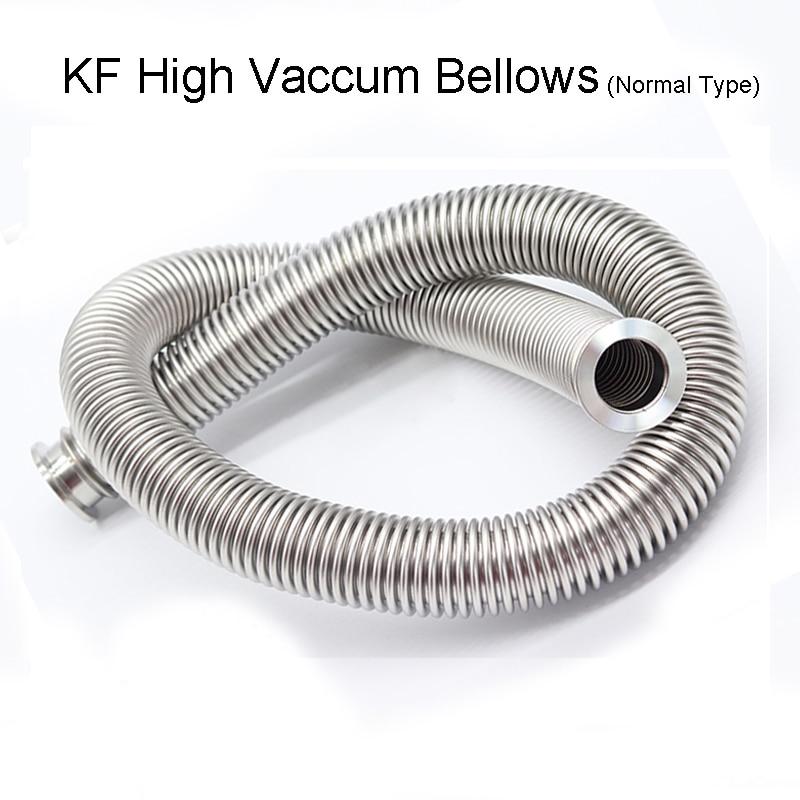 KF40 High Vacuum Bellows KF Stainless Steel SUS304 Hose 100mm-4000mm Vacuum Bellows