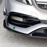 for mercedes benz a class w176 2016 2018 amg front bumper fog light grills accessories car styling
