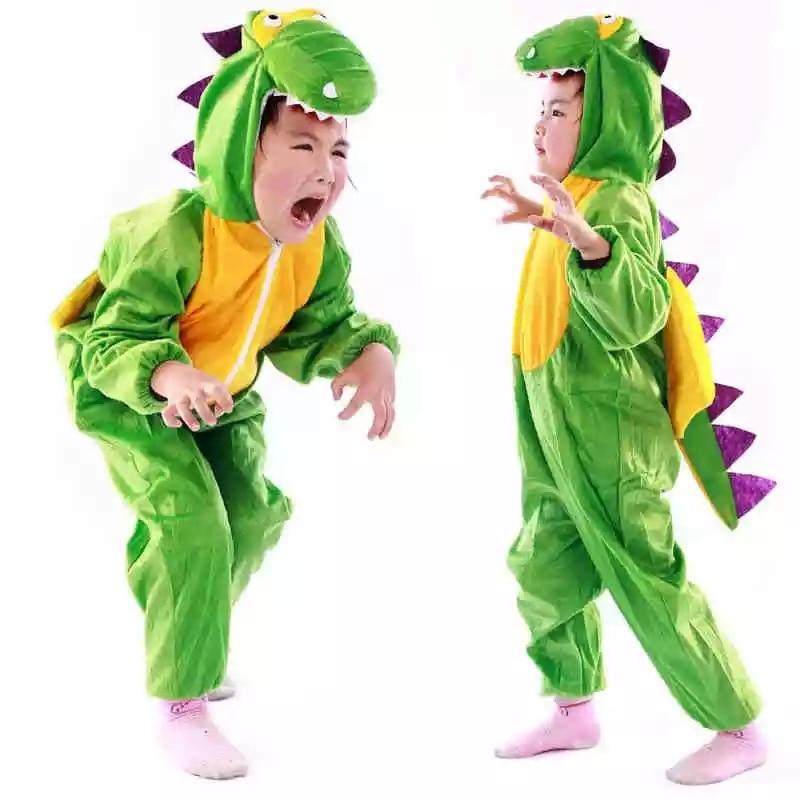 Umorden Boy Girl Cute Cartoon Animal Dinosaur Costume Cosplay Clothing for Kids Children's Day Costumes
