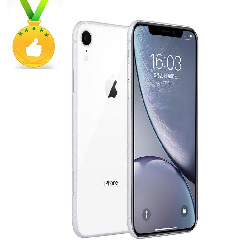 Apple Store Global Versio Original iPhone XR 6.1inch A12  4+64-256GB Cellphones LTE 4G 7+12MP 1SIM Card NFC Face Id Mobile Phone
