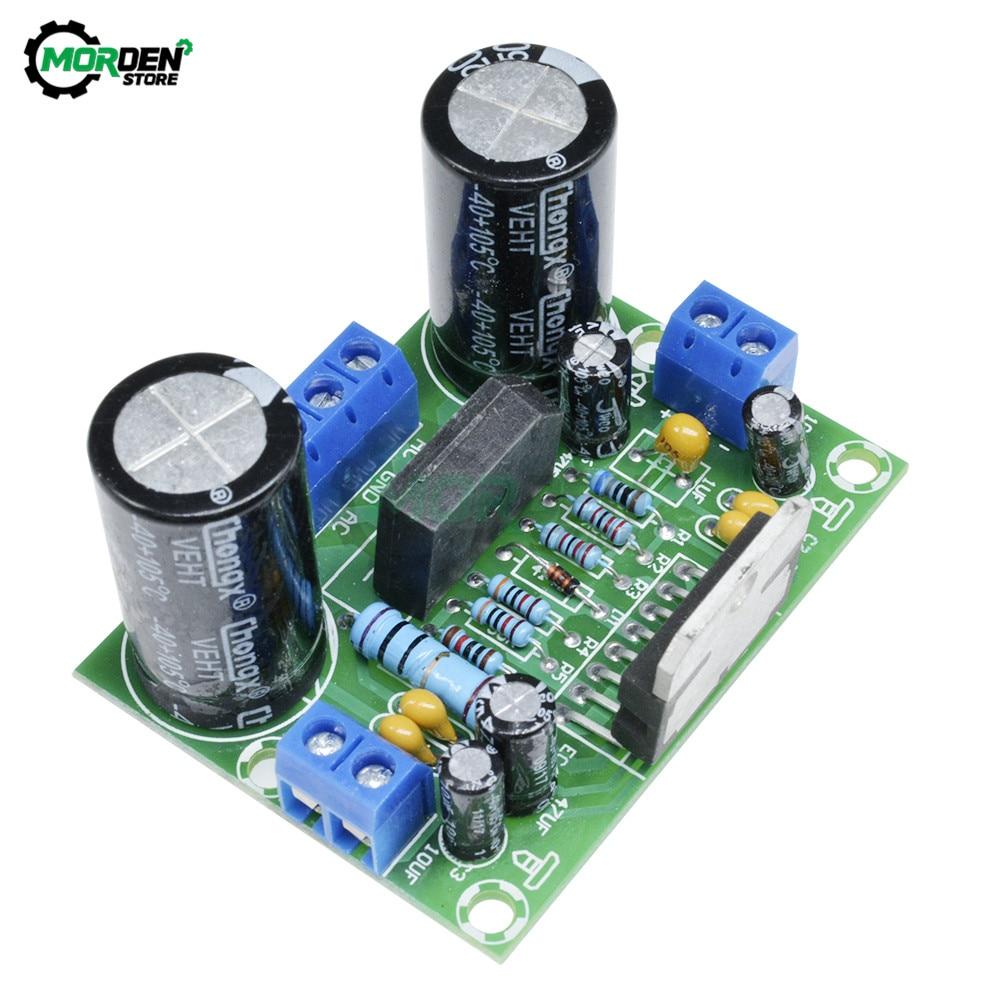 tda7293 rectifier filter plate diy assembled amplifier board Dropship AC 12v-50V 100W TDA7293 Digital Audio Amplifier Board Mono Single Channel Accessories New