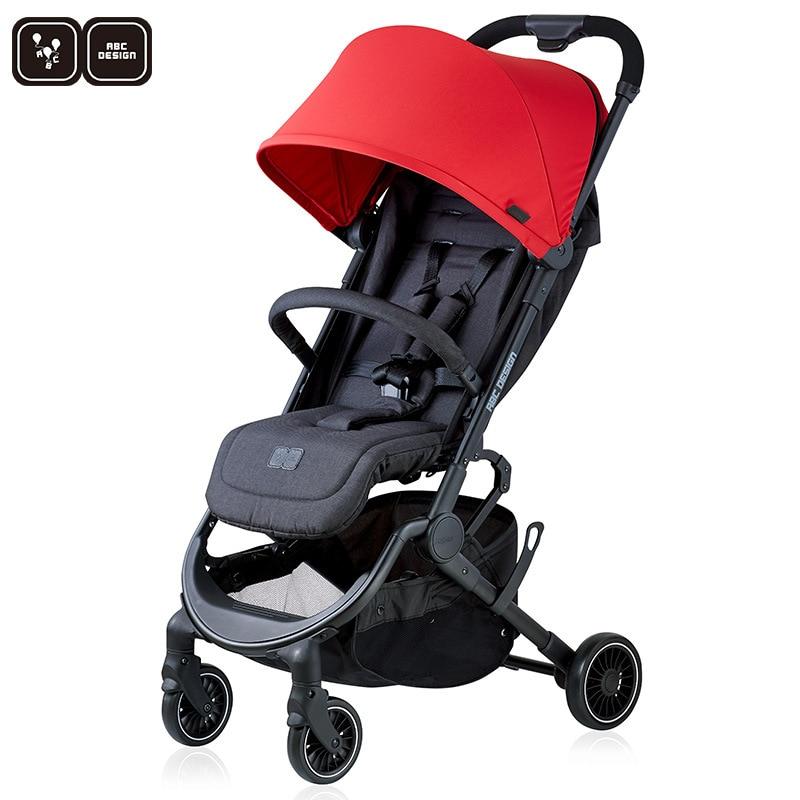 carrinho de bebe e conforto para bebe portatil dobravel e leve abcdesign alemao 0149