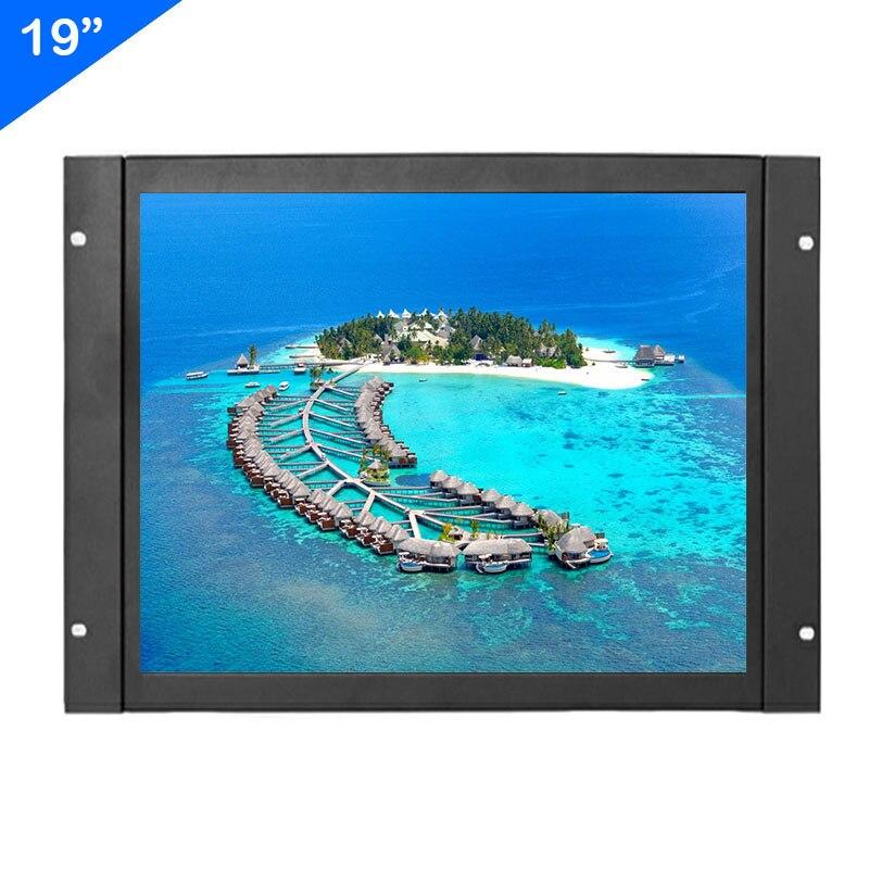 ZHIXIANDA 19 pulgadas 1280*1024 con HDMI VGA/d-sub BNC AV entrada USB marco abierto Pantalla de monitor industrial