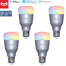 Yeelight 1SE E27 6W RGBW Smart LED Bulb Light Colorful Remote for Mijia APP for Google Assistant for SmartThing for Amazon Alexa