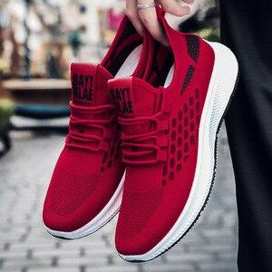 Кроссовки мужские спортивные резиновые, дышащие, на платформе, повседневная обувь для бега и бега