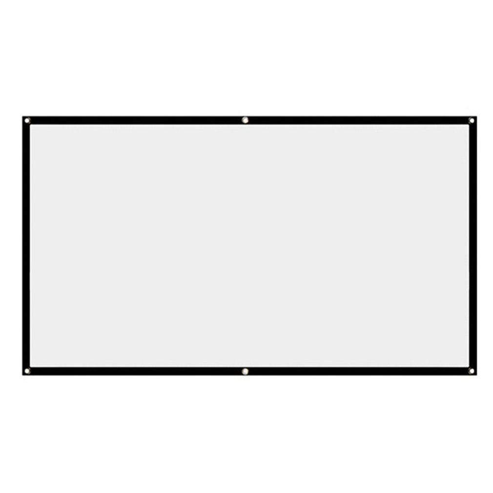 Простой складной мягкий занавес портативный проектор HD занавес из полиэстера и спандекса корпоративного офиса дома Театр