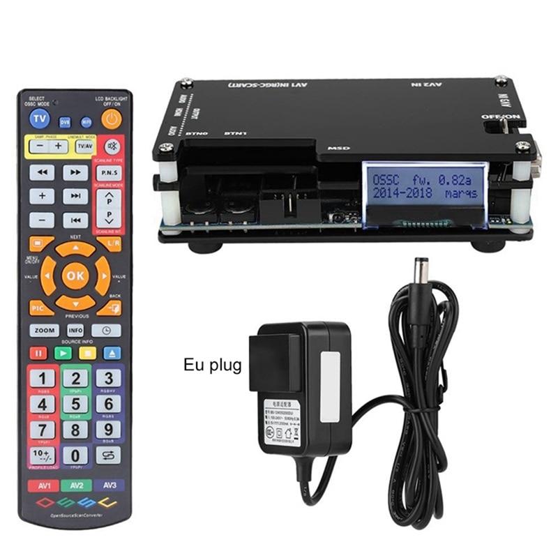 HDMI OSSC محول الفيديو ل Sfc Md Ss Ps Ps2 وي ريترو لعبة وحدة التحكم الاتحاد الأوروبي التوصيل