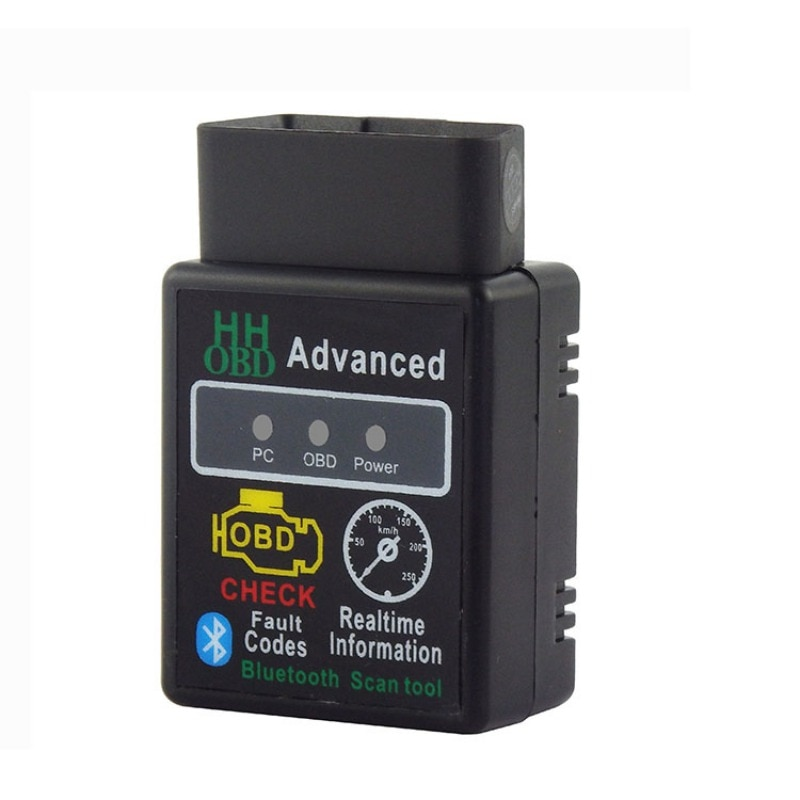 Nuevo V1.5 HHOBD MINI Bluetooth ELM327 OBDII OBD2 Detector de fallas de coche nuevo