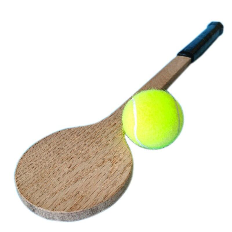 Promoção para Tênis de Madeira Bater com Precisão o Ponto Novo Produto Doce Local Formação Raquete Prática