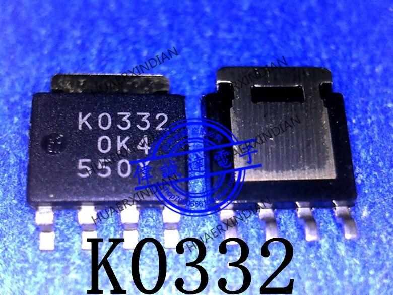 1 piezas nuevo Original RJK0332DPB K0332 SOT669 en stock imagen real
