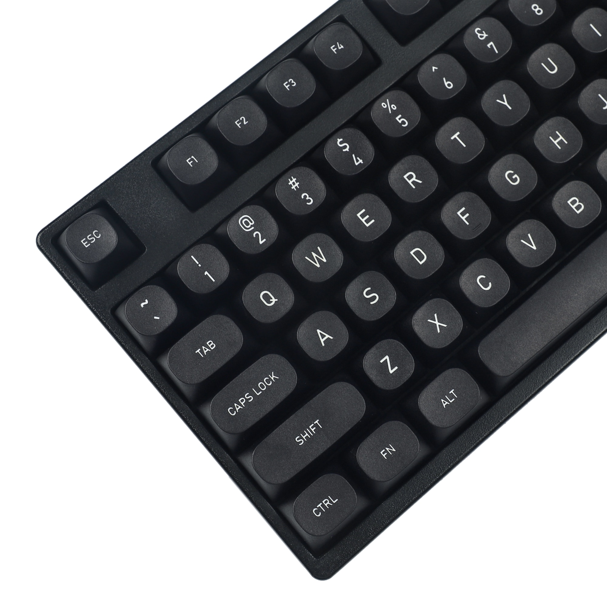 MA Black PBT Keycaps ANSI ISO CO2 Eteched For Mechanical Keyboard Filco Ducky 104 87 61 KBD75 YMD96 GK64 GK61 Keychron