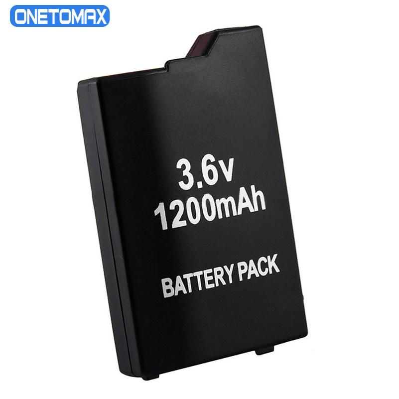 3.6V 1200mAh Replacement Battery for Sony PSP2000 PSP3000 PSP 2000 3000 PSP S110 Gamepad for PlayStation Portable Controller 4pcs 3 6v 2400mah psp 2000 batteries for sony psp2000 psp3000 console