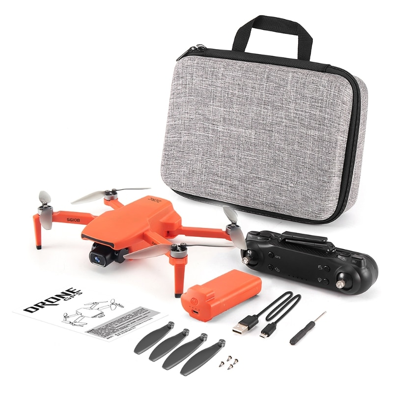 SG108 RC Drone 4K FPV 5G WiFi GPS Brushless Motor Flight for 25 Min Distance 1KM Optical Flow Foldable Quadcopter H055 enlarge
