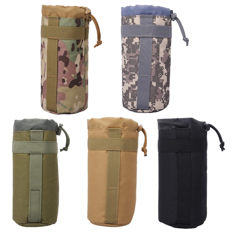 2L Tactics Sport Bags Cover Portable botella de agua bolsa Camping hervidor bolsas para mochila chaleco viaje ciclismo herramientas de senderismo q