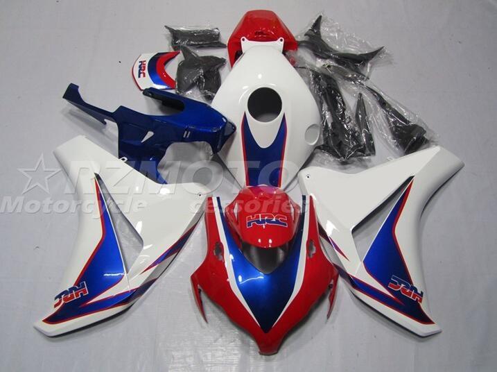4 هدايا جديد ABS حقن دراجة نارية Fairings عدة صالح لهوندا CBR1000RR 2008 2009 2010 2011 08 09 10 11 هيكل مجموعة أحمر أزرق