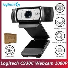 Logitech Originale C930c Smart Camera Linsegnamento Rete 1080P Del Computer Portatile Del Desktop Del Computer Video Conferenza On-Line di Classe HD Webcam