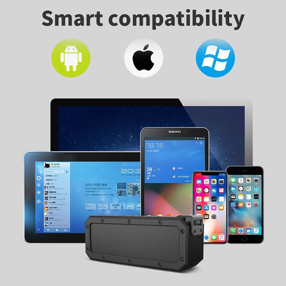Outdoor Wireless Nfc Bluetooth Speaker 40w Audio Level 7 Waterproof Tws Anti-Fall High Sound Quality Home High Power