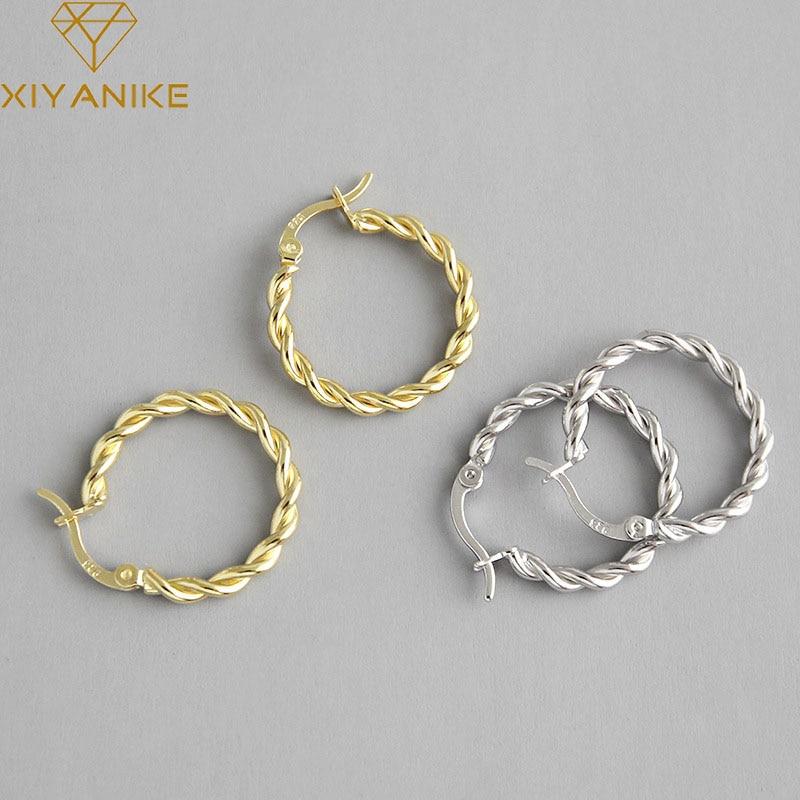 Женские-витые-серьги-кольца-xiyanike-серебро-925-пробы-очаровательные-французские-Роскошные-романтические-серьги-в-ретро-стиле-2021