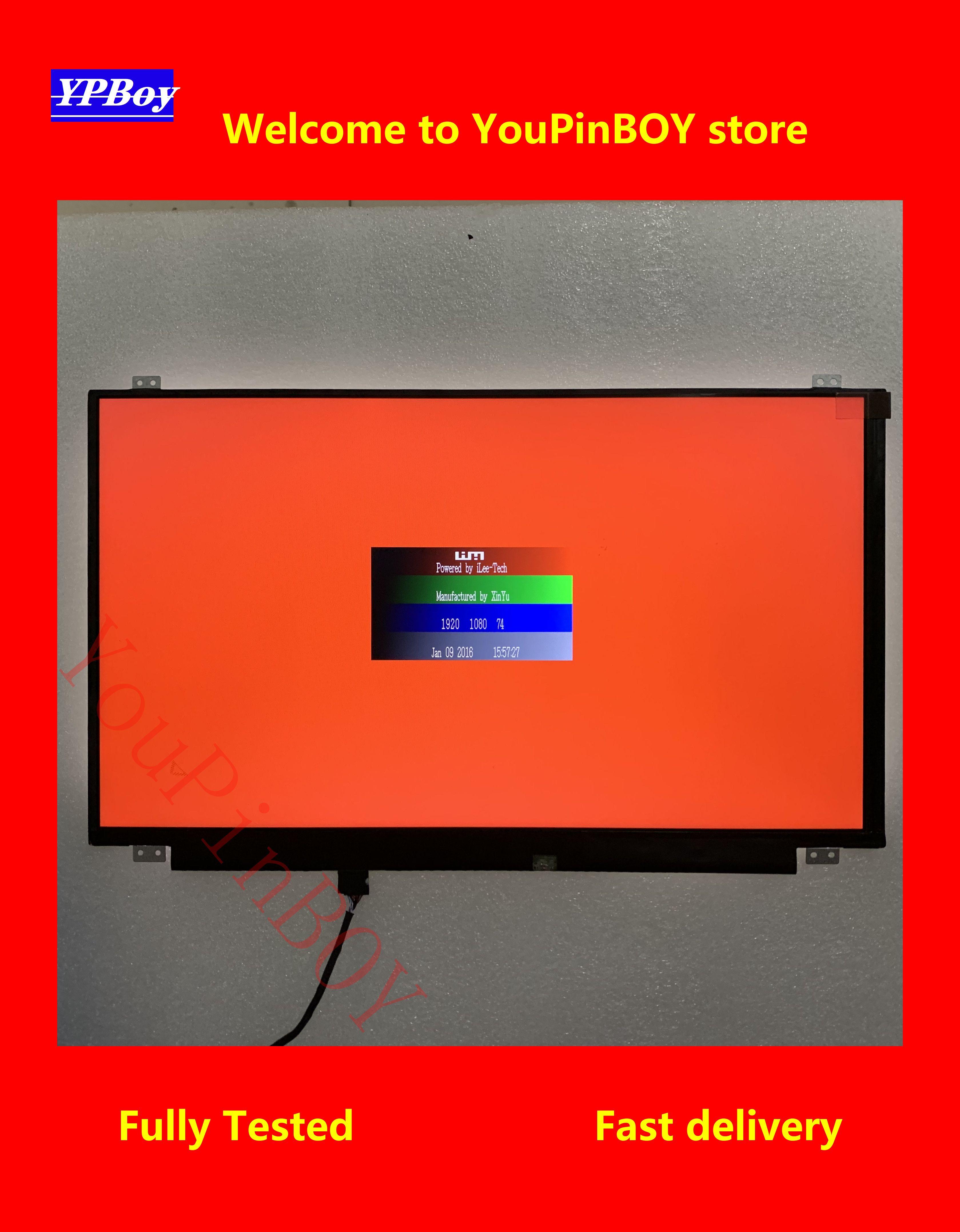 Pantalla LCD de ordenador portátil de 15,6 pulgadas, NT156FHM-N41 N42 N31 N156HGE-EA1 EAB B156HTN03.6 B156HTN03.4 B156HTN03.8 HB156FH1-301 401