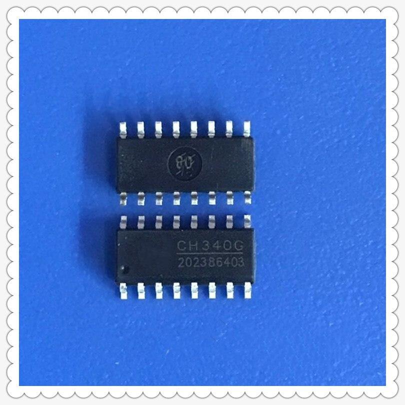 5PCS CH340G SOP16 340G SOP-16 CH340 SOP Original IC R3 gratis USB Cable Serial Chip