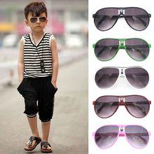 New Fashion ANTI-UV Kids Sunglasses Child Boys Girls Shades Baby Glasses Outdoor Driver Goggles
