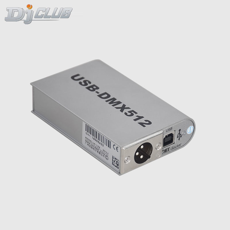 Professional Stage Controlling Software Interlligent Dmx Interface Usb Dmx 512 Controller