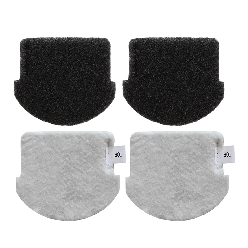 filter for vacuum cleaner fabric bf 60m 2pcs Vacuum Cleaner Cotton Filter Spare Parts Filter Fit For Midea VCS141 VCS142 Vacuum Cleaner Filter Parts Accessories