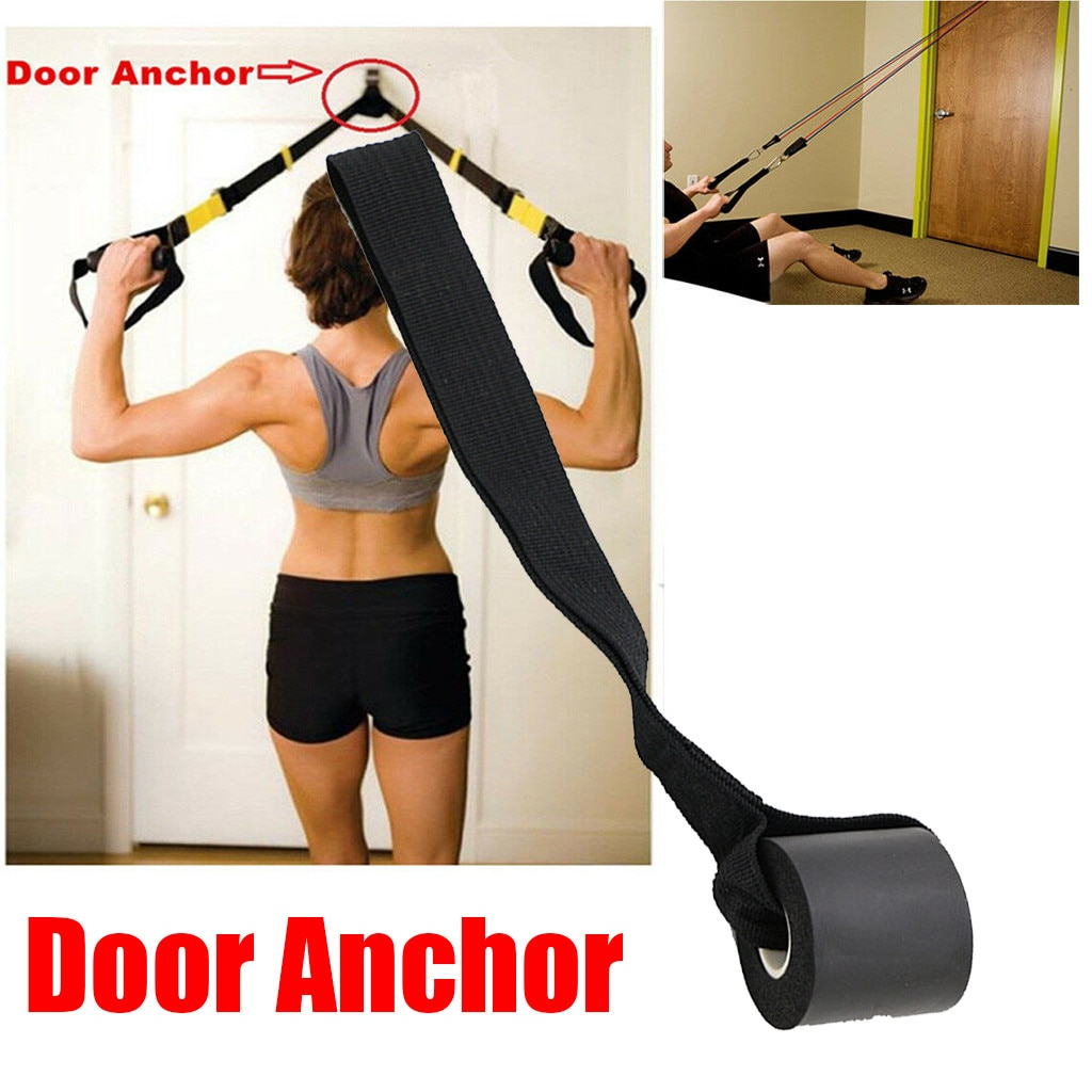Fitness exercise supplies Foam Door Anchor for Resistance Band Tube Doorway Muscle Building Strength Train Exercise at home#3