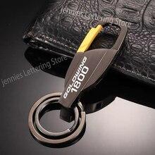 Металлический брелок кольцо для ключей с надписью на заказ для honda goldwing 1800 gl1800 2018 2012 2005 аксессуары для мотоциклов