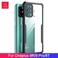 for oneplus 9r oneplus 9 pro casexundd airbag bumper shockproof shellback transprent phone cove for oneplus 9r 9 pro case