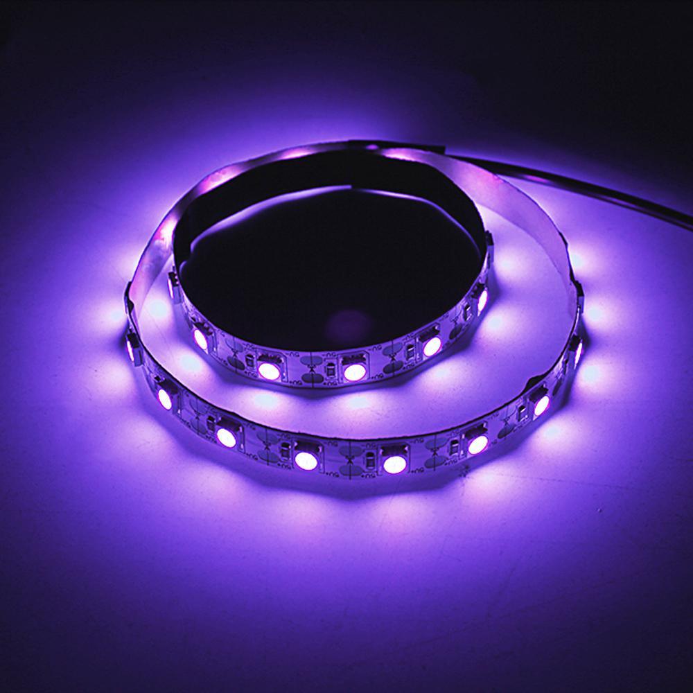Barra de luz de desinfección germicida Uv de 5v, lámpara bactericida para desinfección de ácaros y ozono, tira de luces Led, barra de luces para coche