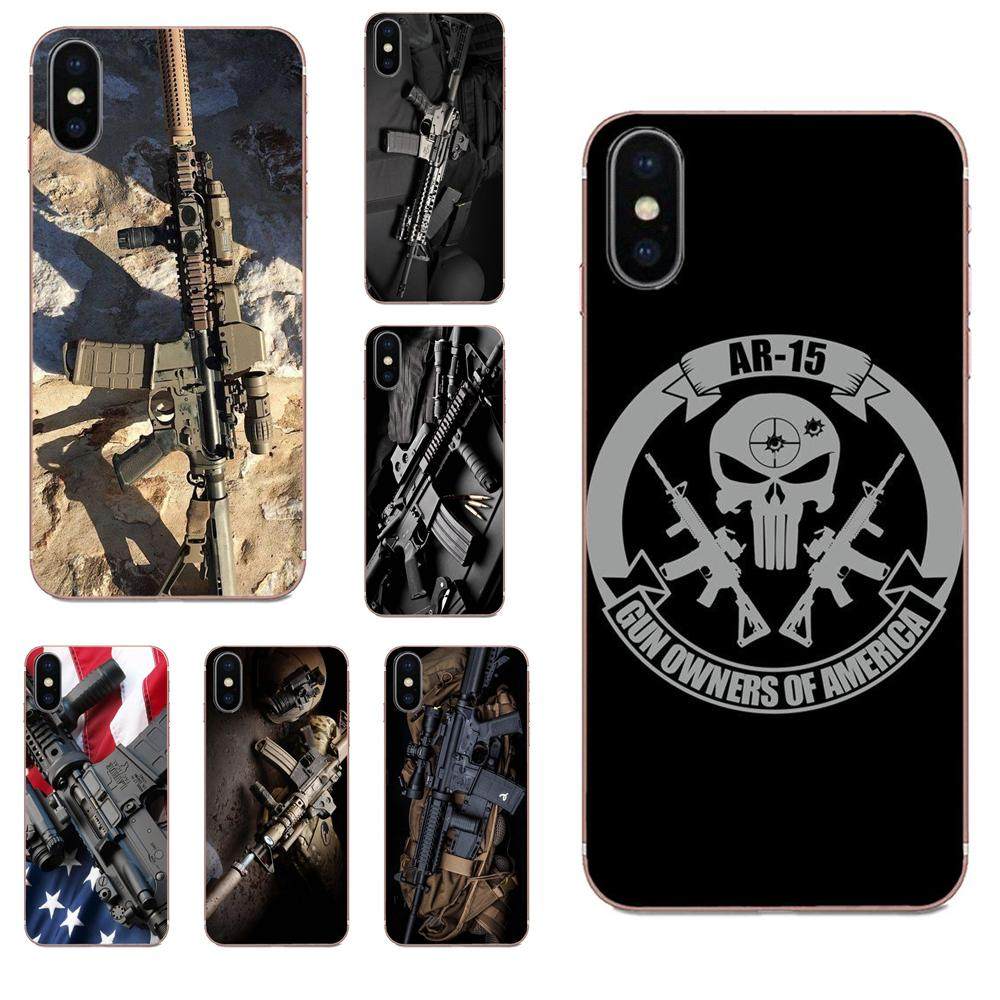 A la venta, papel tapiz de Rifles de Ar-15 Ar 15 pistolas para Galaxy Grand A3, A5, A7, A8, A9, A9S, On5, On7 Plus, Pro Star 2015, 2016, 2017