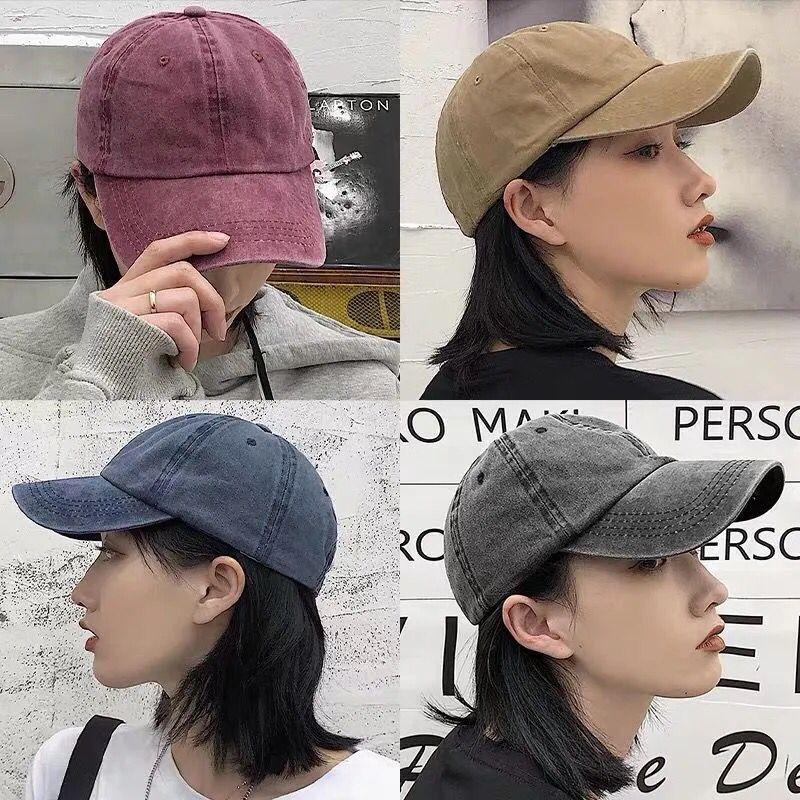 НОВАЯ шапка яркого цвета, однотонная хлопковая мягкая женская шапка с японским стирком, Регулируемая мужская шапка, модная шапка с оттенком