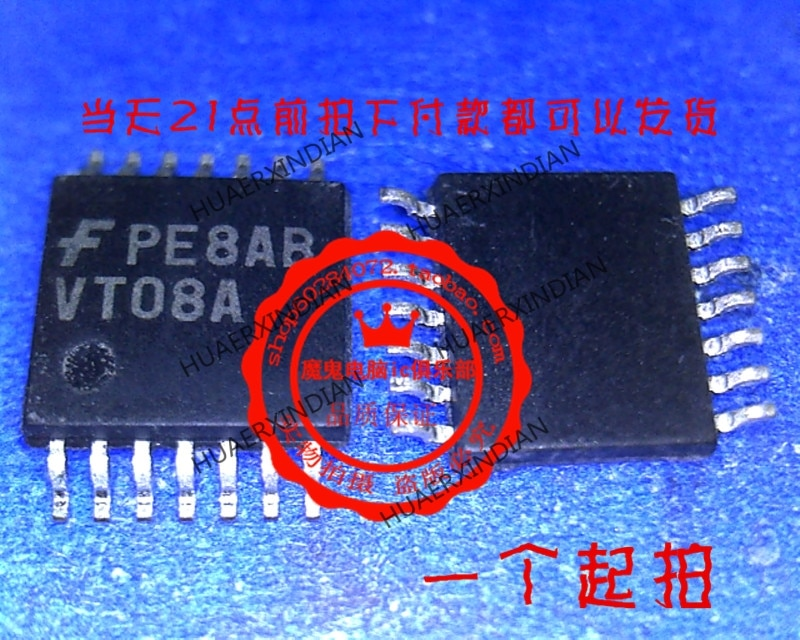 1 peças original novo tc74vhc08ft 74vhc08 vhc08 TSSOP-14 2 em estoque imagem real