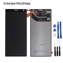 الأصلي لسوني اريكسون 10 زائد شاشة الكريستال السائل محول الأرقام بشاشة تعمل بلمس مجموعة Sony اريكسون 10 زائد شاشة عرض LCD أدوات