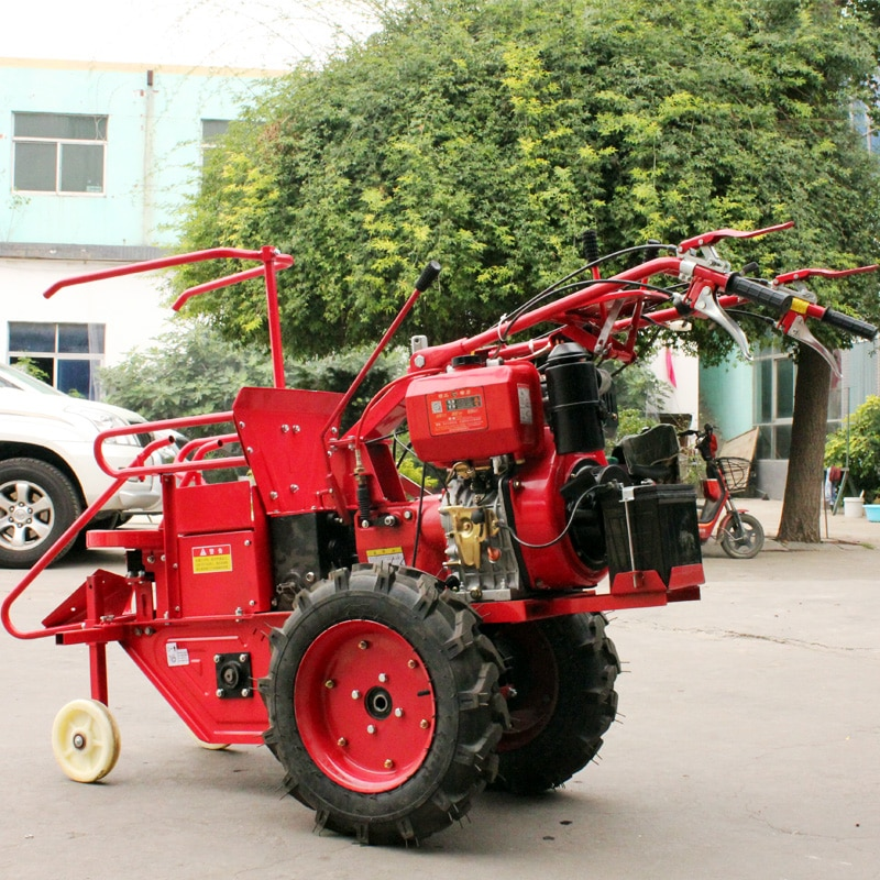 12hp walking tractor corn harvester small household all-in-one corn stalk crusher picking corn enlarge