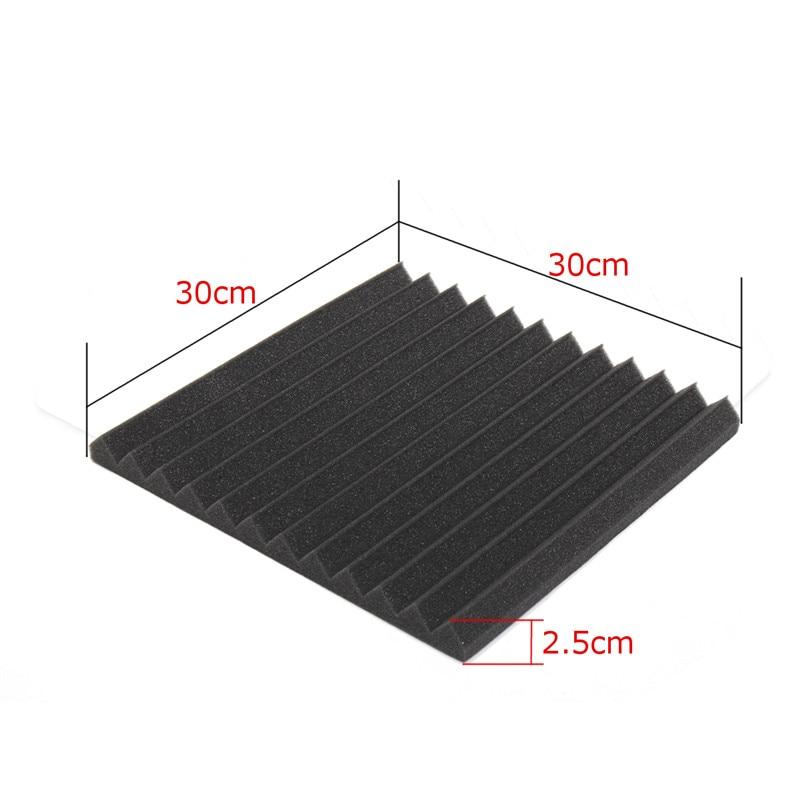 24PCS 300x300x25mm Studio Acoustic Foam Sound Foam Sound Proofing Protective Sponge Soundproof Absorption Treatment Panel 12 enlarge