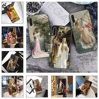 medieval middle ages oil painting phone case for samsung galaxy a s note 10 7 8 9 20 30 31 40 50 51 70 71 21 s ultra plus