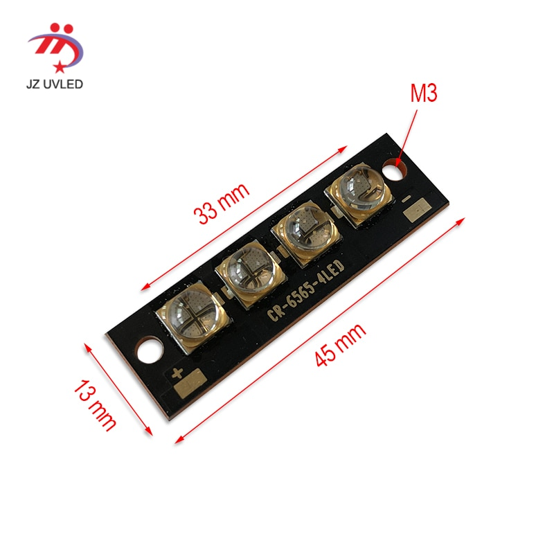 45W High Power UV LED Module For Epson L1800 UV Flatbed Printer Gel Curing Ink Dry Varnish Curing 365nm/395nm Fan Cool LED Light