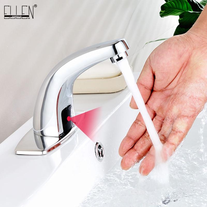 حار وبارد التلقائي الأيدي لمس الحرة صنبور مزود بمستشعر الحمام صنبور مصرف صنبور الحمام خلاط المياه رافعة FYG334