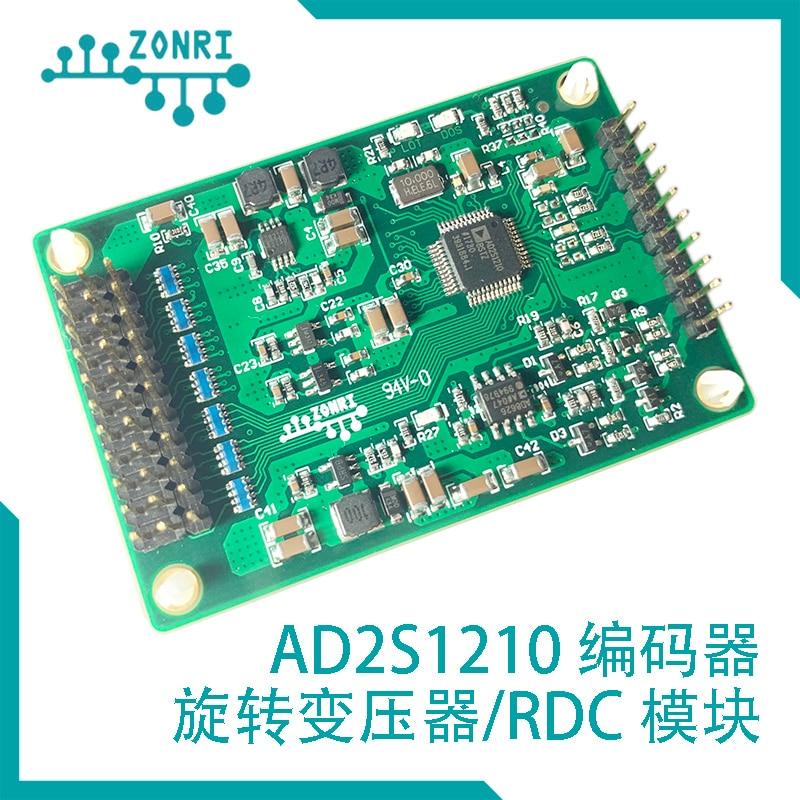 جهاز تشفير دوار AD2S1210 16 بت/وحدة محلل/دعم خرج إشارة انحناء رباعي