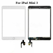 Écran tactile pour iPad Mini 3 Mini3 écran tactile en verre numériseur avec bouton daccueil pour iPad mini 3 A1599 A1600 A1601 tactile